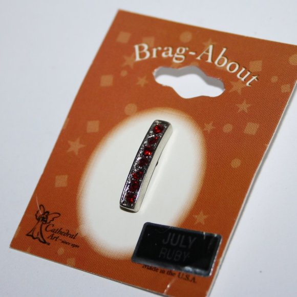 Brag abouts Silver Pendant NWT July